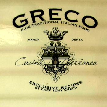 Pasta Greco